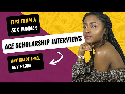Ace Your Scholarship Interview | Top Tips & How To Answer Interview Questions