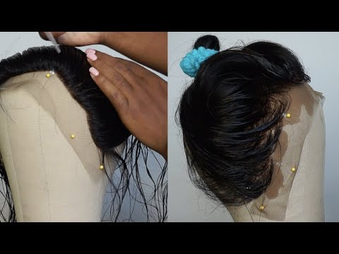 WATCH ME MAKE MY FIRST LACE FRONTAL WIG   FT. YIROO BODY WAVE HAIR (PART 1)