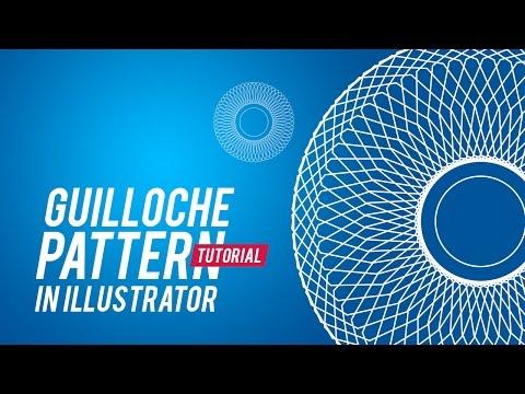 Easy Trick to Create Guilloche Pattern in Adobe Illustrator