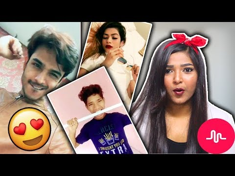 REACTING TO INDIAN MUSICAL.LYS | Musical.ly India Tour