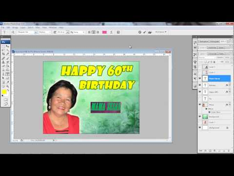 How to make a simple layout using Photoshop CS3