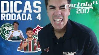 Cartola Fc 2017 - Rodada 4 - Dicas Tops