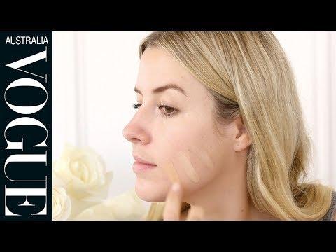 How to colour match your foundation | Vogue Australia Beauty