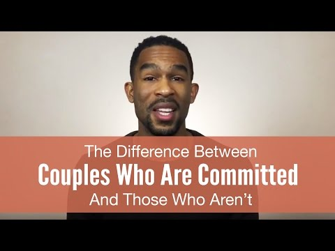 The Difference Between Couples Who Are Committed And Those Who Aren't