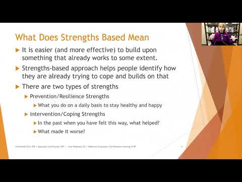 249 A Strengths Based Approach to Anxiety Treatment
