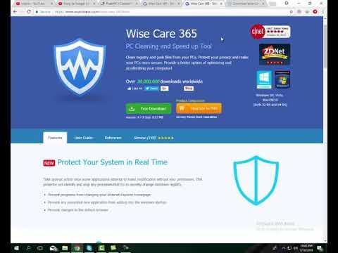 Intro of Wise Care 365 Security Urdu Hindi David Yusaf