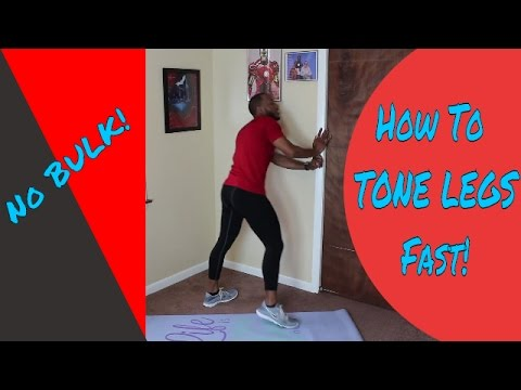 How To Get Slim Toned Legs Fast In 2 Weeks. Extreme Fat Burner Exercise Routine