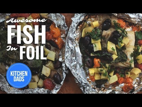 How to Grill Fish in Foil | Fish in Foil Recipe l  Kitchen Dads Cooking