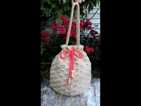 CROCHET How to #Crochet Shell Stitch - Crochet Purse Handbag #TUTORIAL #80 supersaver