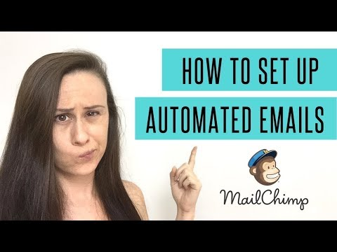 How To Set Up Automated Emails In MailChimp