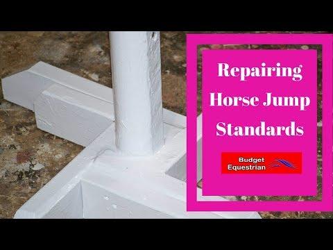 Repairing Horse Jump Standards