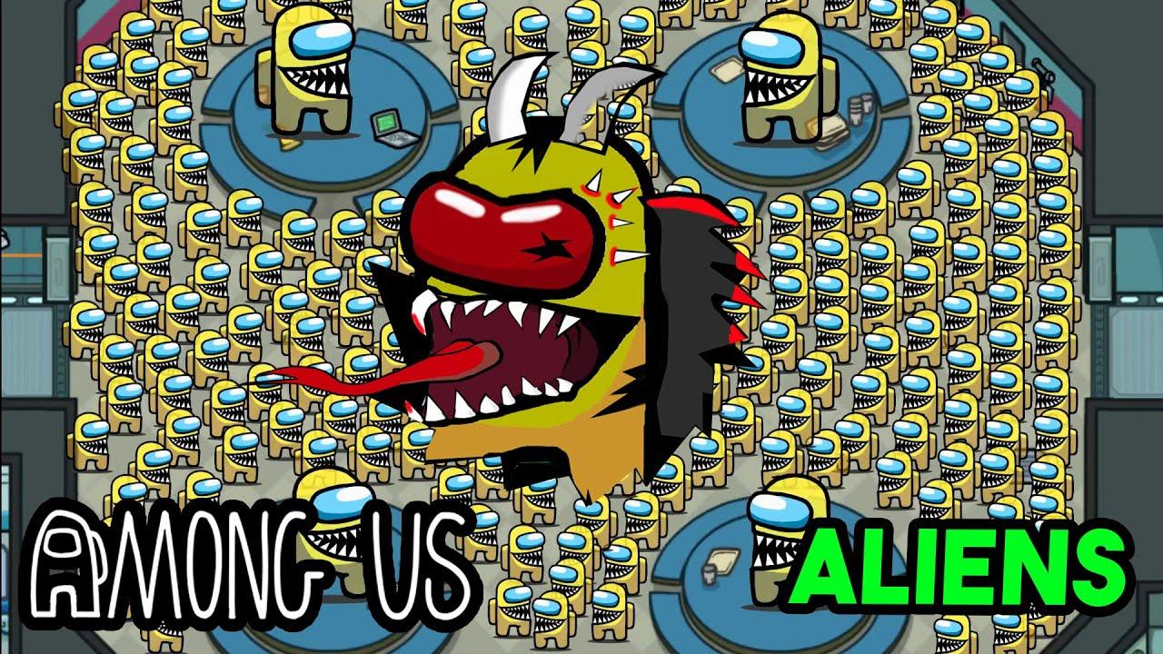 Among us Aliens Episode 3 - Alien Boss Fight - The Henry Stickmin ft..   Among us Animation