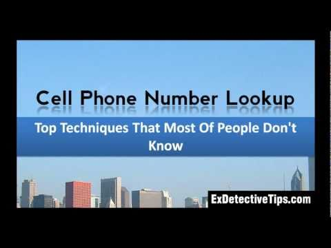 Cell Phone Number Lookup - Top Techniques by ExDetective