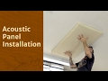 Acoustic Panel Installation