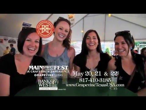 Grapevine's Main Street Fest 2016 (60 Sec TV Ad)