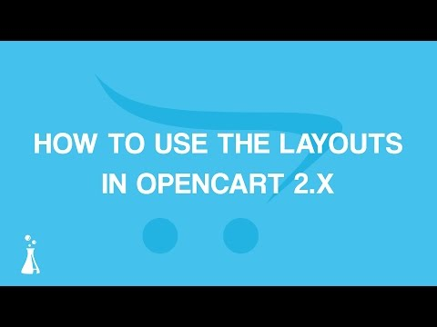 How to Use The Layouts in OpenCart 2.3.x