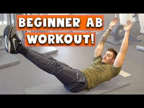 Beginner Ab Workout for Men and Women | 5 Easy Six Pack Abs Exercises