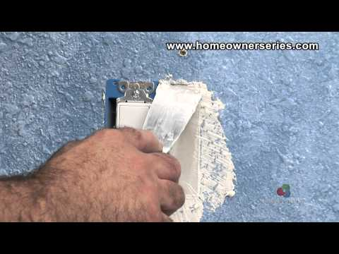 How to Fix Drywall - Electrical Box Patch - Drywall Repair - Part 2 of 2