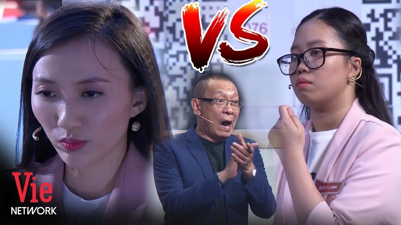 Lại Văn Sâm kinh ngạc với màn khiêu chiến giữa Mai Tường Vân và Diệu Linh | Siêu Trí Tuệ Việt Nam