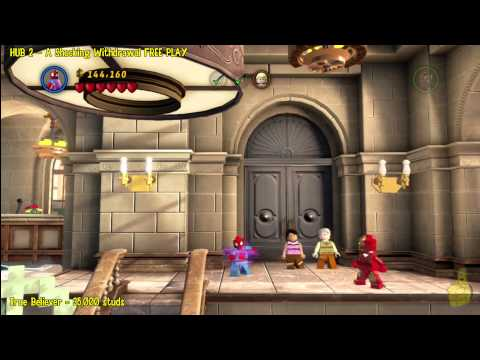 Lego Marvel Super Heroes: HUB 2 A Shock Withdrawal - FREE PLAY - HTG