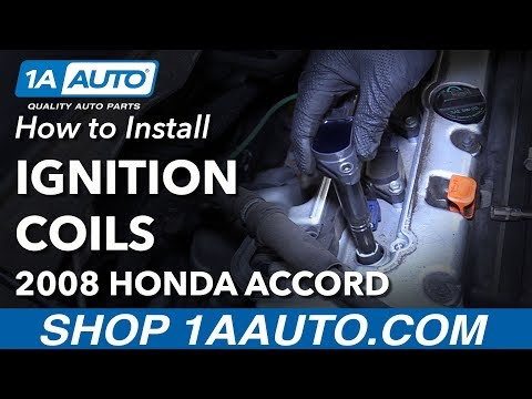 How to Install Replace Ignition Coils 2008 Honda Accord