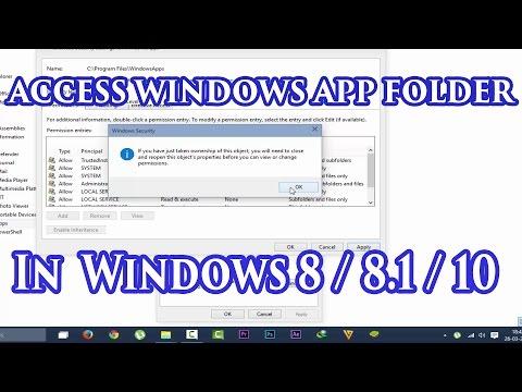 How To Access Windows App Folder in Windows 7 / 8 / 8.1 / 10