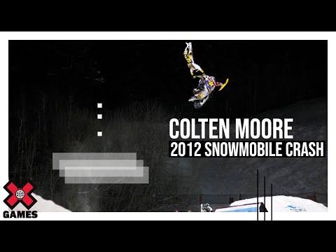 Winter X Games 2012: Colten Moore Crash - Winter X Games