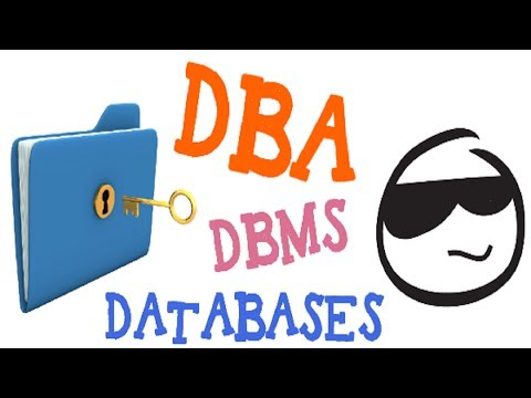 Career Advice : How to Become a  Database Administrator or DBA: Career Guidance animation videos