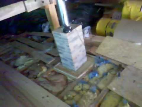 France; project update - laying the attic floor boards (Ryan)