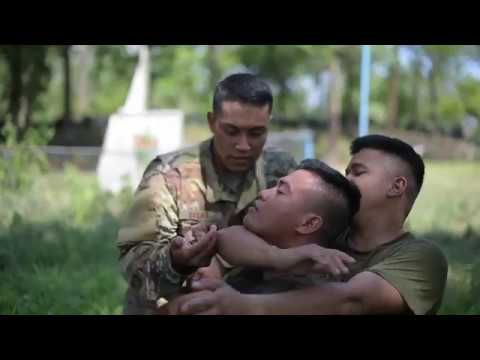 U.S. & Philippines Air Forces conduct Hand-to-hand and combat marksmanship training