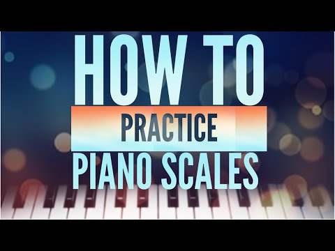 10 TRICKS TO GET AN AWESOME PIANO TECHNIQUE - HOW TO PRACTICE PIANO SCALES