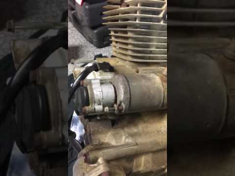 Quick & easy way to test a quad starter motor honda big red