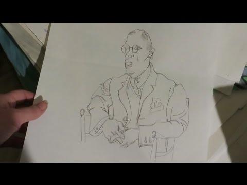 My High School/College Art Portfolio (Part 1) Sketchbook Friday