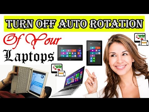How to Turn Off Auto Screen Rotation on Your Laptops in Window 8 [Urdu/Hindi] - Learning With sMile