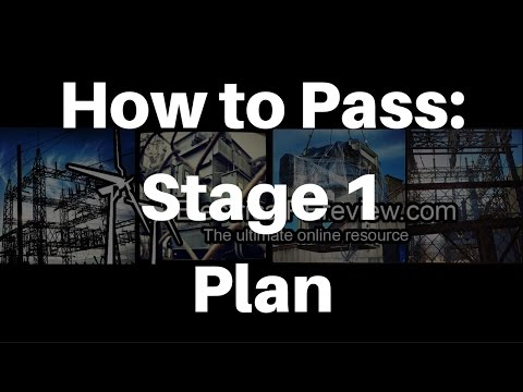 Stage 1 - Planning - How to Pass the PE Exam the Very First Time, or How to Pass If You Have Failed