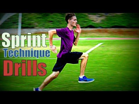 Sprint Technique Drills