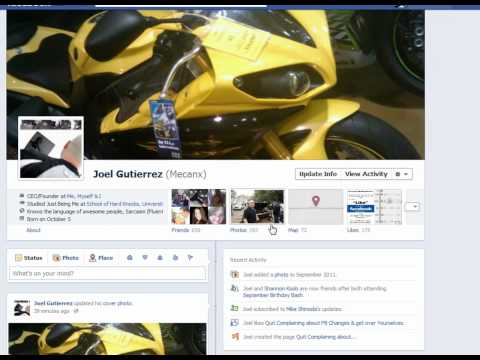 Facebook's New Profile Change coming Oct. 4th 2011