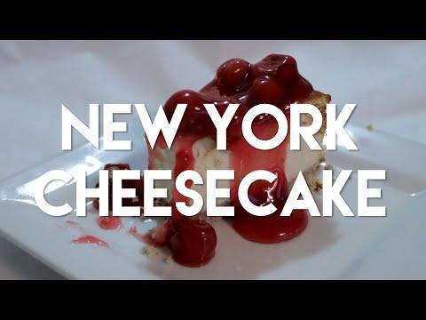 New York Cheesecake with Pecan Crust Recipe