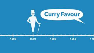 Where does the phrase 'to curry favour' come from?