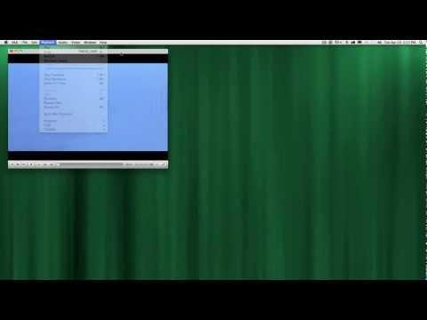 Record DVD Clip VLC Mac