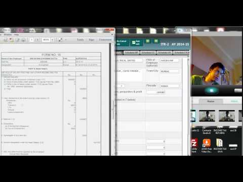 HOW TO FILL UP SALARY SCHEDULE IN TAX RETURN USING FORM 16 | INCOME TAX
