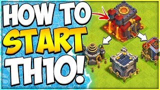 New To TH10 Upgrade Guide! How to Start Town Hall 10 in Clash of Clans