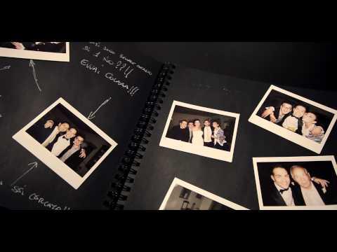 Polaroid Wedding in Tuscany