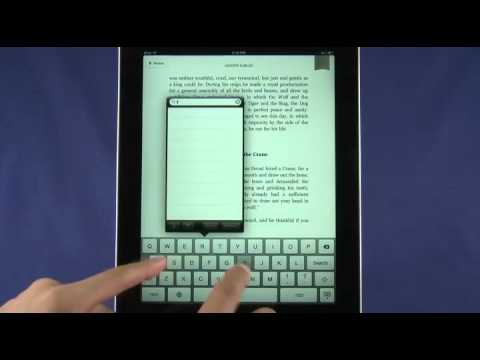 Kindle for iPad review