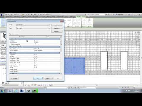 #25 - Autodesk Revit - Edit Type: Doors - Brooke Godfrey