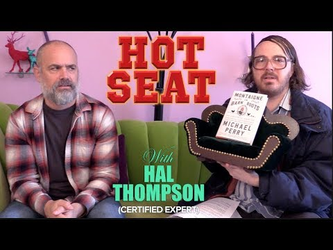 Hal Thompson Interviews Author Michael Perry On The Hot Seat