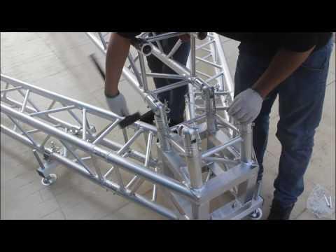 Speaker Tower Installation-(FOSHAN WIN-GOLD TRUSS CO., LTD)