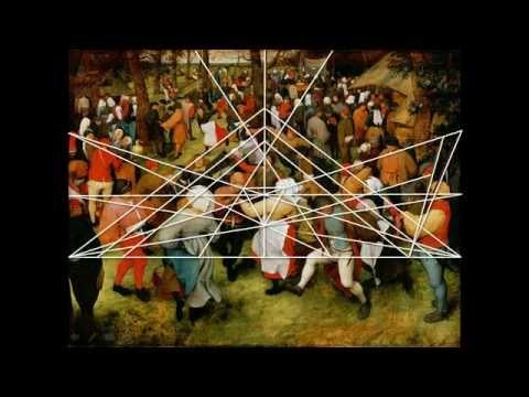 Wedding Dance by Pieter Bruegel the Elder A Geometric Analysis