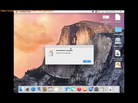 Uninstall Avast Free Antivirus 2016 for Windows, Mac