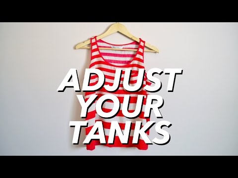 How to Adjust Your Tank Tops (reduce cleavage) | WITHWENDY